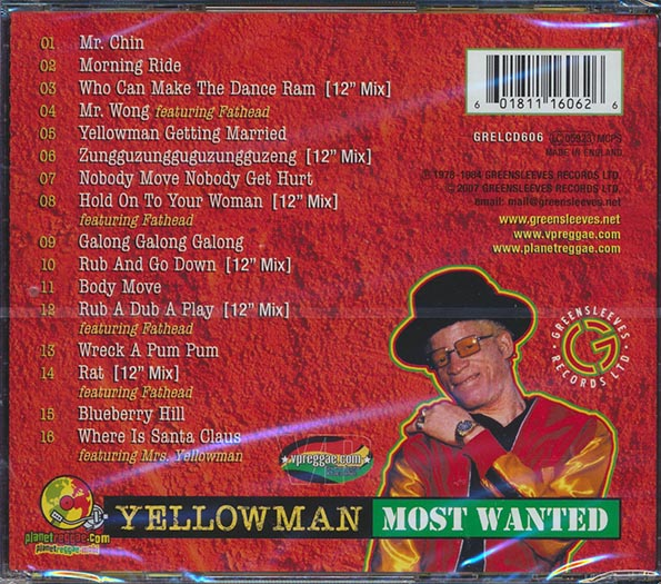 Yellowman - Most Wanted 1978-1984