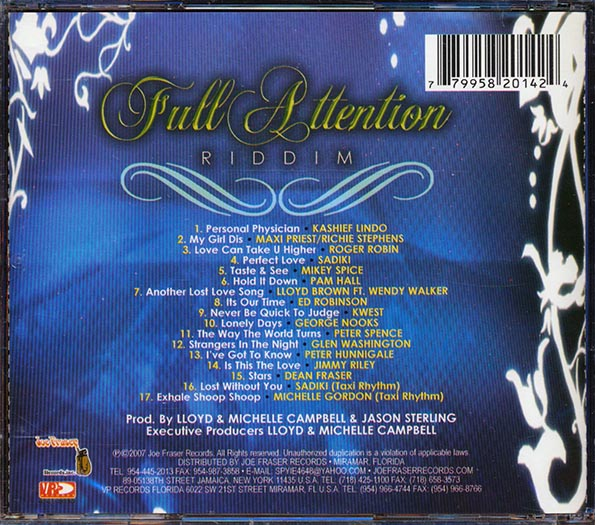 Full Attention Riddim