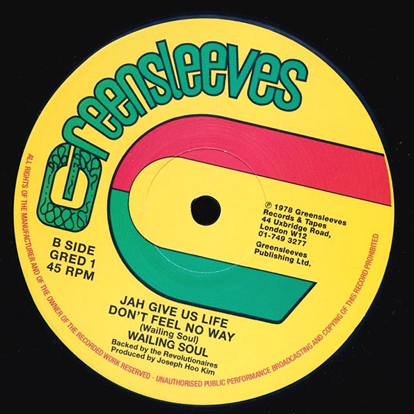 Wailing Souls & Ranking Trevor - War (Extended Mix)  /  Wailing Souls - Jah Give Us Life Don't Feel No Way (Extended Mix)