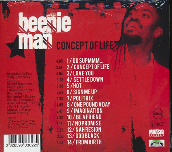 Beenie Man - Concept Of Life
