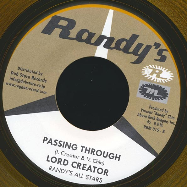 The Skatalites - Black Joe  /  Lord Creator - Passing Through