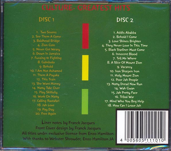 Culture - Greatest Hits