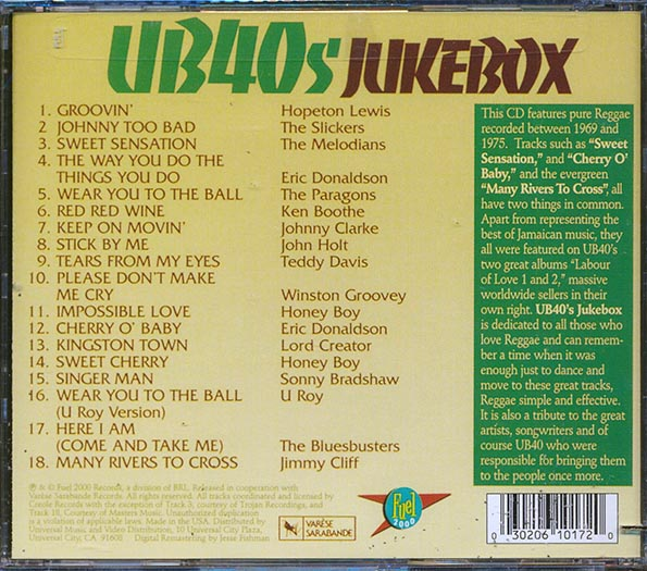 UB40's Jukebox