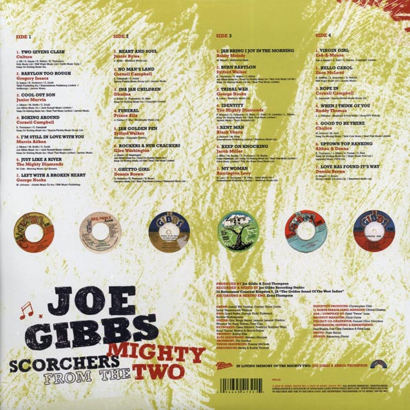 Joe Gibbs - Joe Gibbs Reggae Anthology: Scorchers From The Mighty Two (Various Artists)