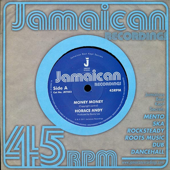 Horace Andy - Money Money  /  King Tubby - Version
