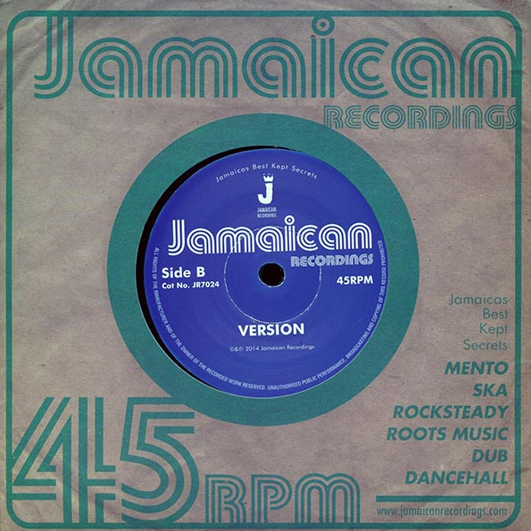 Linval Thompson - Jah Jah The Conqueror  /  Version