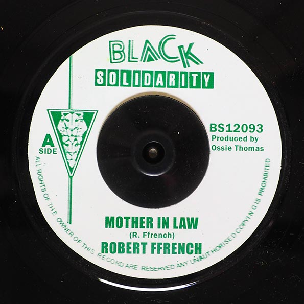 Robert French - Mother In Law  /  Version