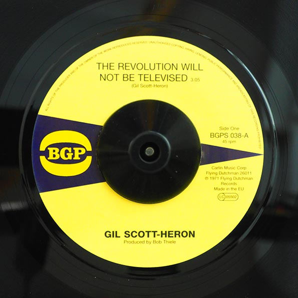 Gil Scott-Heron - The Revolution Will Not Be Televised  /  Gil Scott-Heron - Home Is Where Hatred Is
