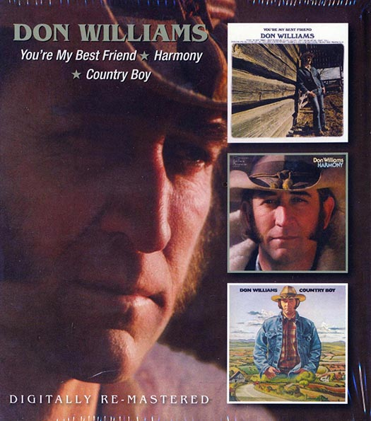 Don Williams - You're My Best Friend + Harmony + Country Boy