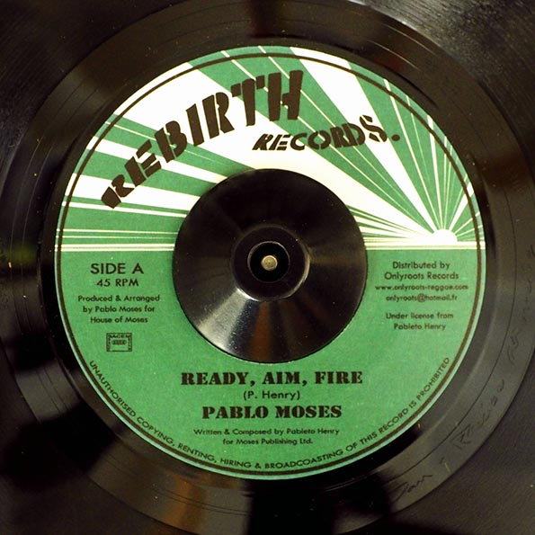 Pablo Moses - Ready, Aim, Fire  /  Version