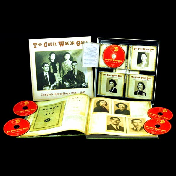 Chuck Wagon Gang, The - Complete Recordings 1936-1955