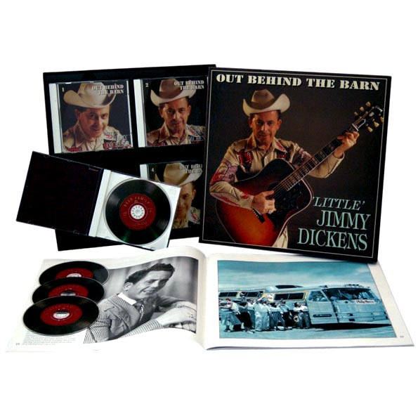 Little Jimmy Dickens - Out Behind The Barn