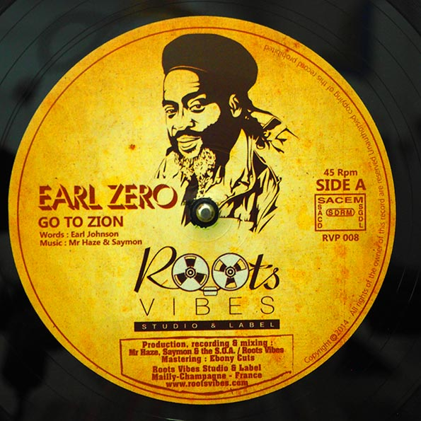 Earl Zero - Go To Zion (Extended Mix)  /  Nam - Zion Blood (Extended Mix)
