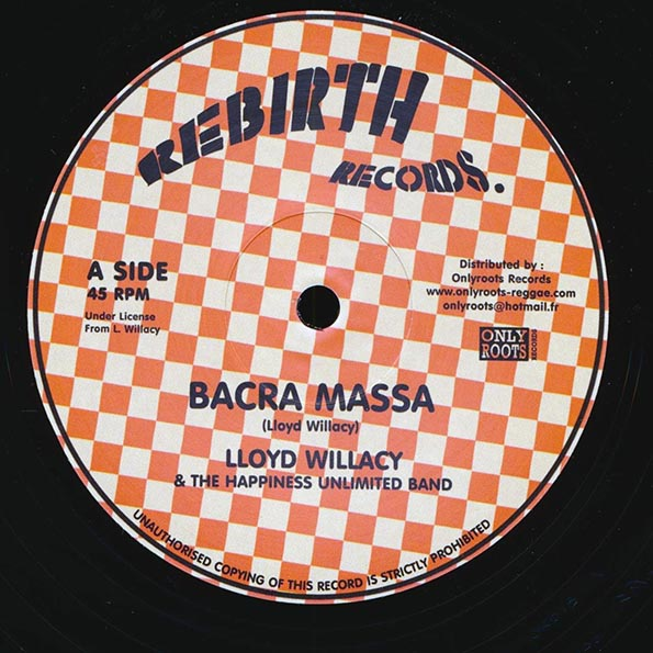 Lloyd Willacy - Bacra Massa (Extended Mix)  /  Lloyd Willacy - More Than Tongues (Extended Mix)