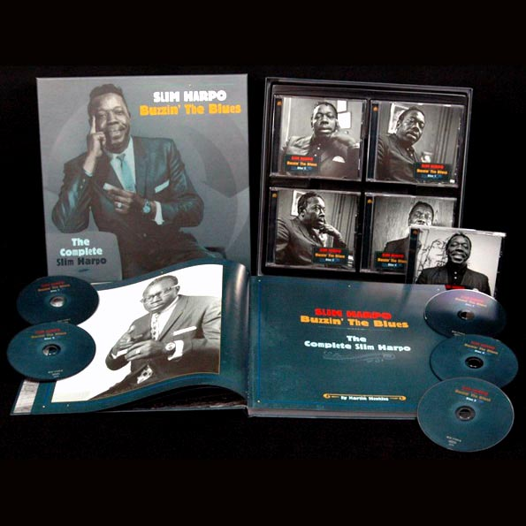 Slim Harpo - Buzzin' The Blues: The Complete Slim Harpo