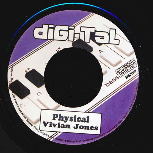 Vivian Jones - Physical  /  Energy Dub
