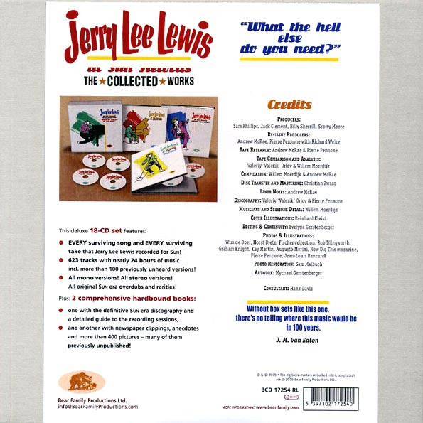 Jerry Lee Lewis - At Sun Records: The Collected Works
