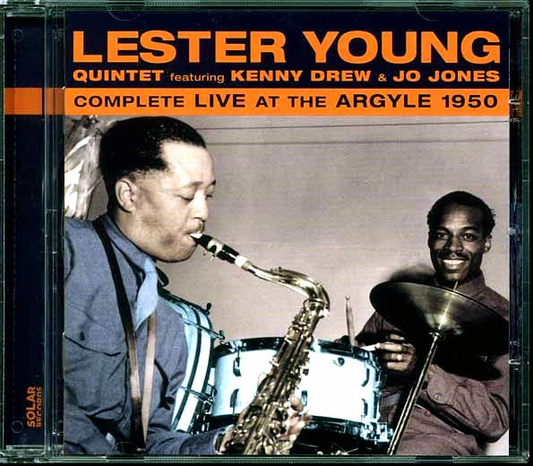 Lester Young Quintet - Complete Live At The Argyle 1950