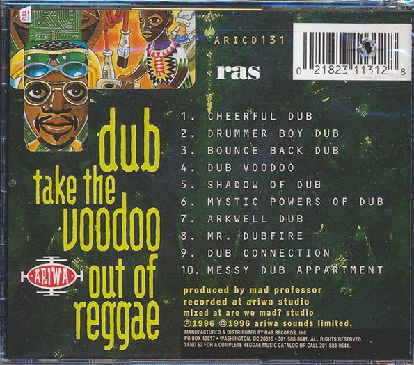 Mad Professor, Lee Perry - Dub Take The Voodoo Out Of Reggae