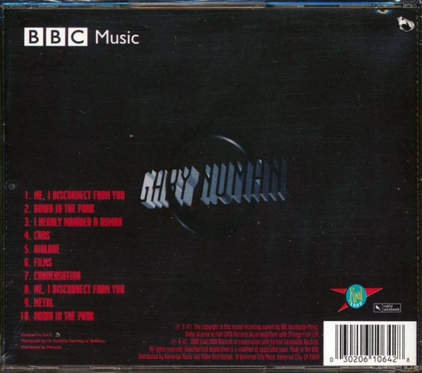 Gary Numan - The BBC Sessions