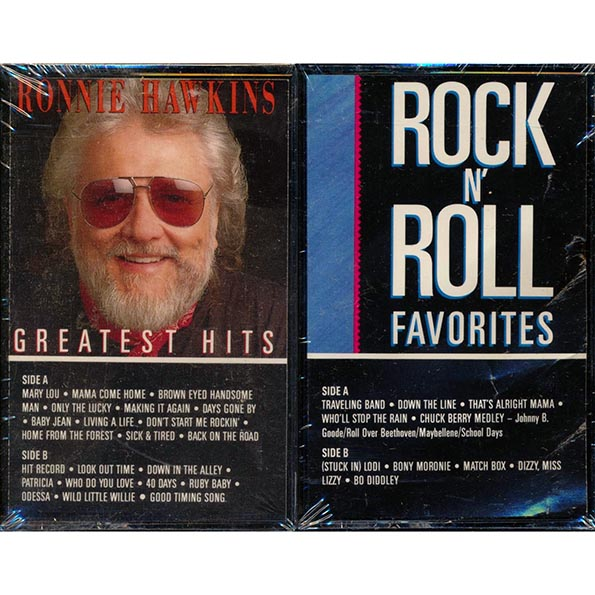 Ronnie Hawkins - Greatest Hits + Rock N' Roll Favorites