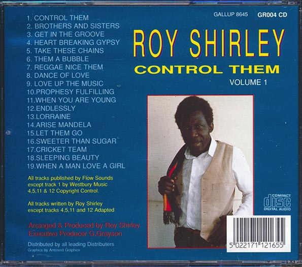 Roy Shirley - Control Them