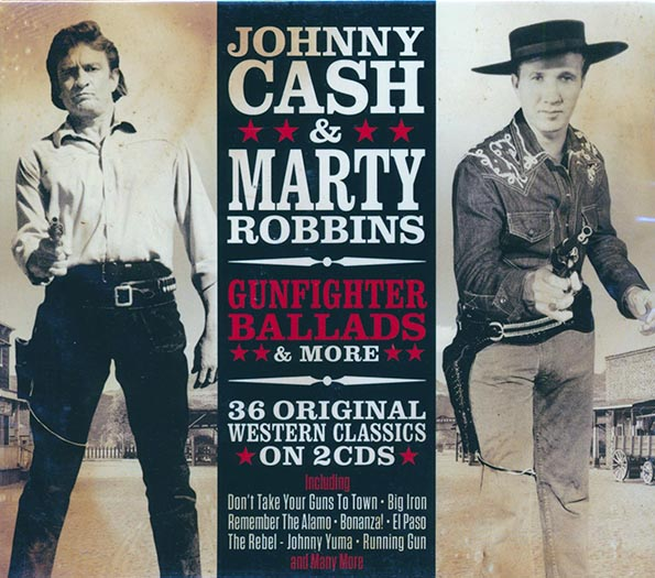Johnny Cash, Marty Robbins - Gunfighter Ballads