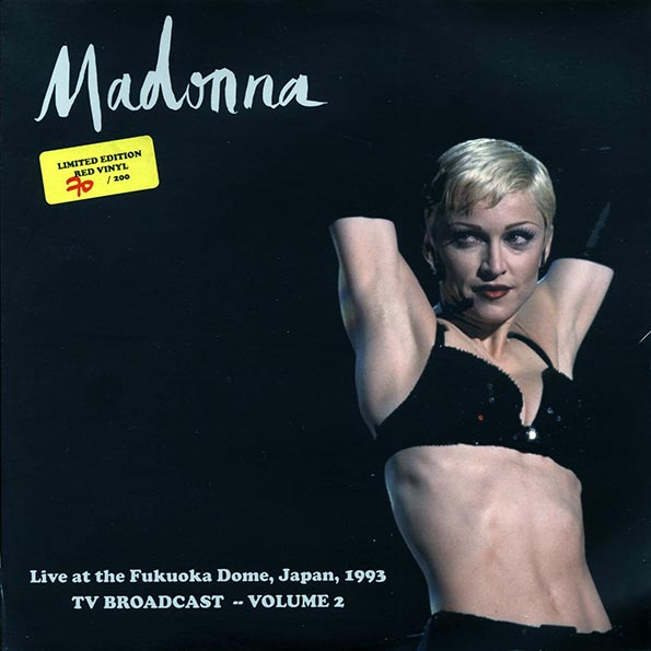 Madonna - Live At The Fukuoka Dome, Japan, 1003 TV Broadcast Volume 2