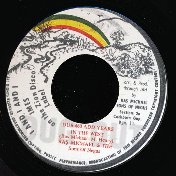 Ras Michael & The Sons Of Negus - Numbered Days  /  Ras Michael & The Sons Of Negus - Dub 400 Add Years In The West