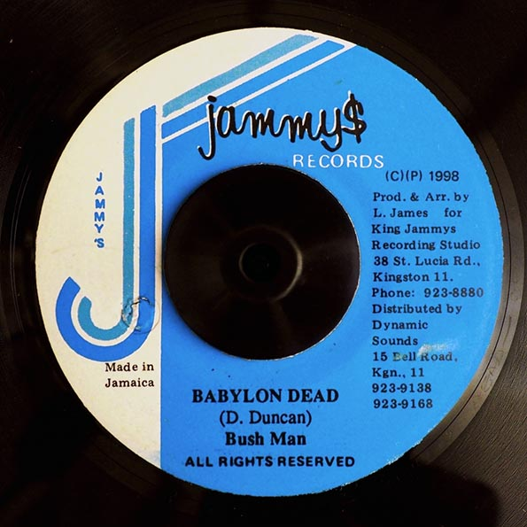 Bushman - Babylon Dead  /  Version