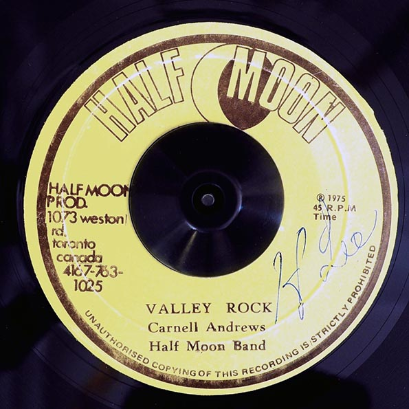 Carnell Andrews  /  Haf Moon Band - Valley Rock