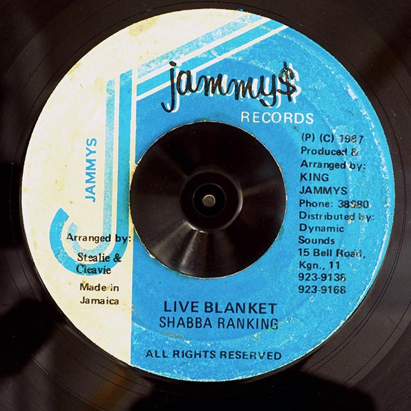 Shabba Ranks - Live Blanket  /  Version
