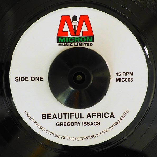 Gregory Isaacs - Beautiful Africa  /  Version