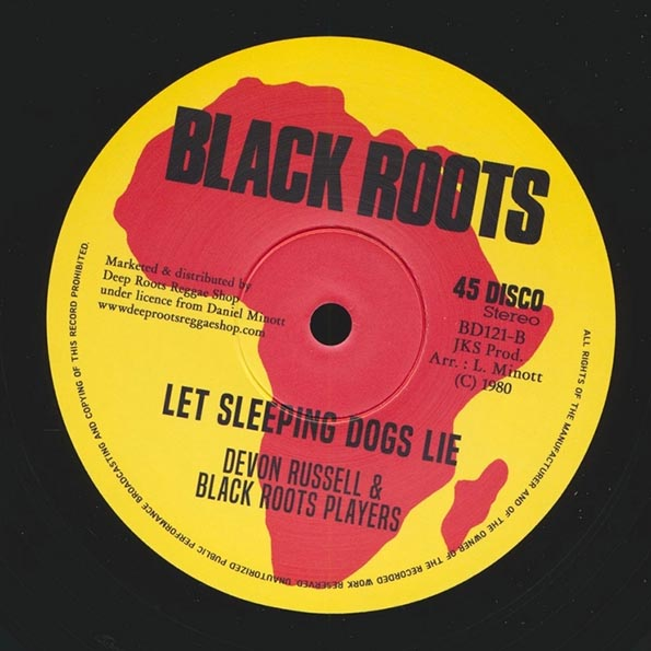 Sugar Minott - Rome (Extended Mix)  /  Devon Russell - Let Sleeping Dogs Lie (Extended Mix)