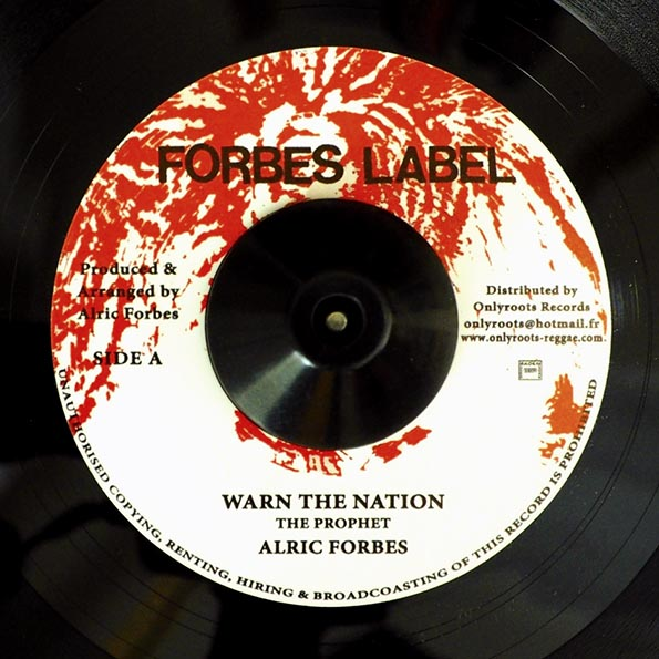 Alric Forbes - Warn The Nation  /  Version