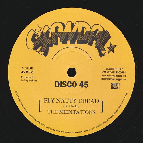 The Meditations - Fly Natty Dread (Extended Mix)  /  The Meditations - Justice; Version