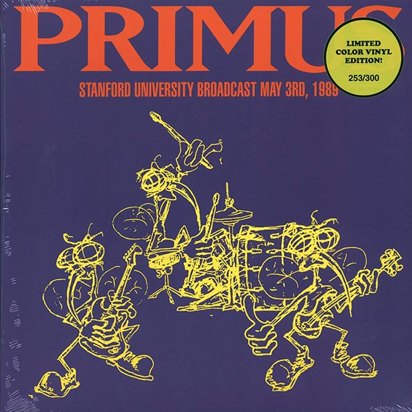 Primus - Standford University Broadcast May 3rd, 1989