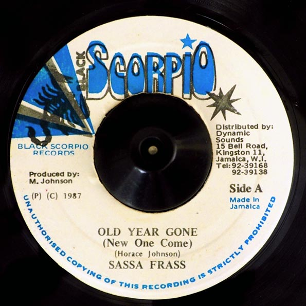 Sassa Frass - Old Year Gone  /  Version