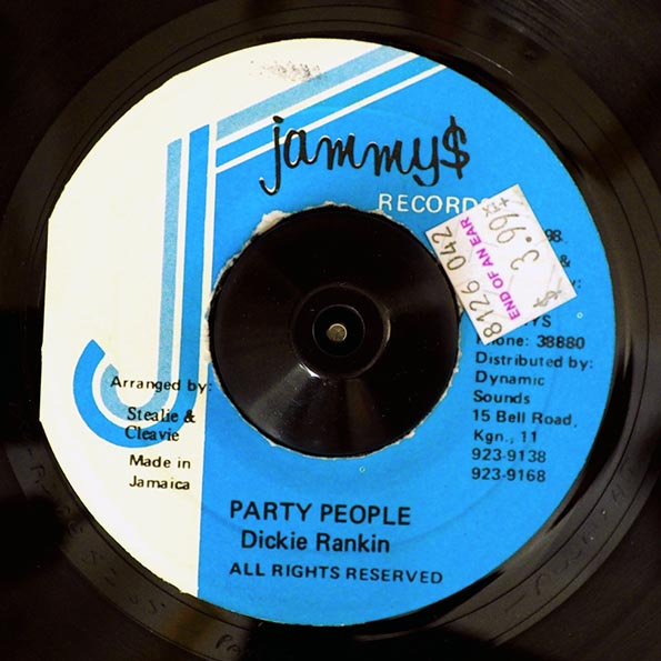 Dickie Rankin - Party People  /  Version