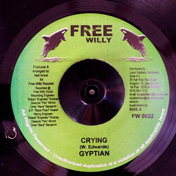 Gyptian - Crying  /  Version