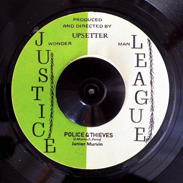 Jr. Murvin - Police & Thieves  /  The Upsetters - Grumbling Dub