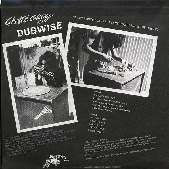 Soul Syndicate - Ghetto-Ology Dubwise