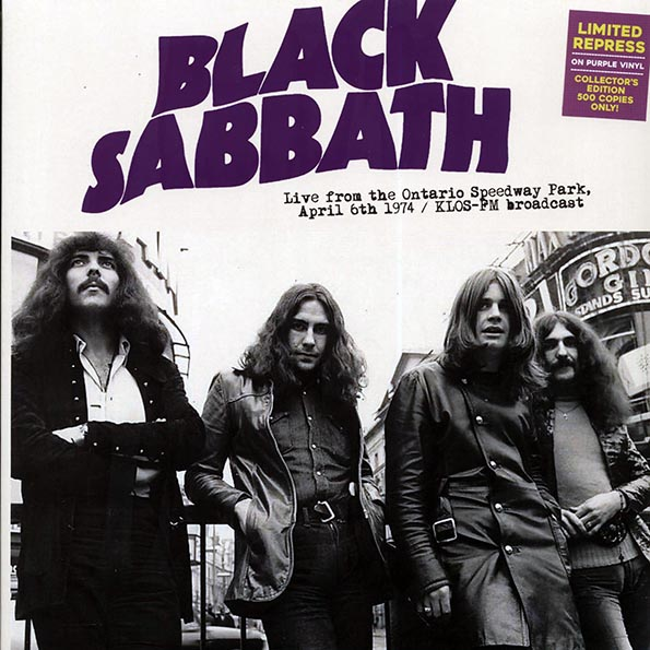 Black Sabbath - Live From The Ontario Speedway Park, April 6th 1974: KLOS-FM Broadcast