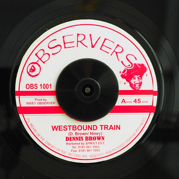 Dennis Brown - Westbound Train  /  Big Youth - Ride On