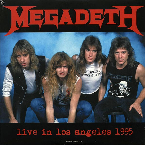 Megadeath - Live In Los Angeles 1995 Westwood One FM