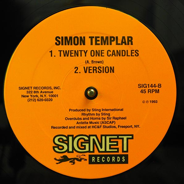Josey Wales - Use Me; Version  /  Simon Templar - Twnety One Candles; Version