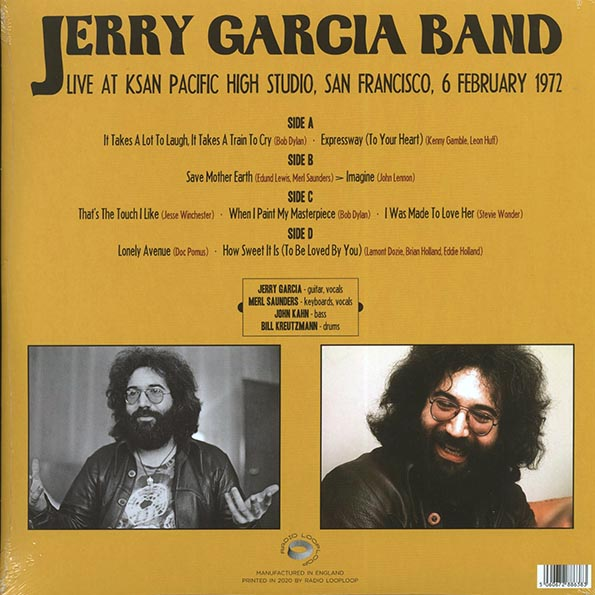 The Jerry Garcia Band - Live At KSAN Pacific High Studio, San Francisco, 6 February 1972