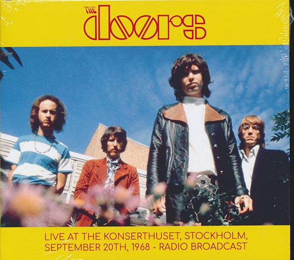 The Doors - Live At The Konserthuset, Stockholm, September 20th, 1968 Radio Broadcast