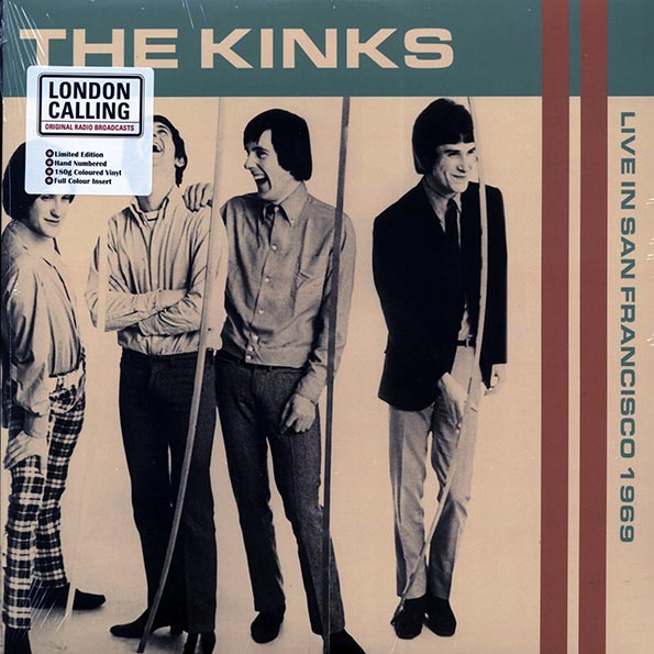 The Kinks - Live In San Francisco 1969