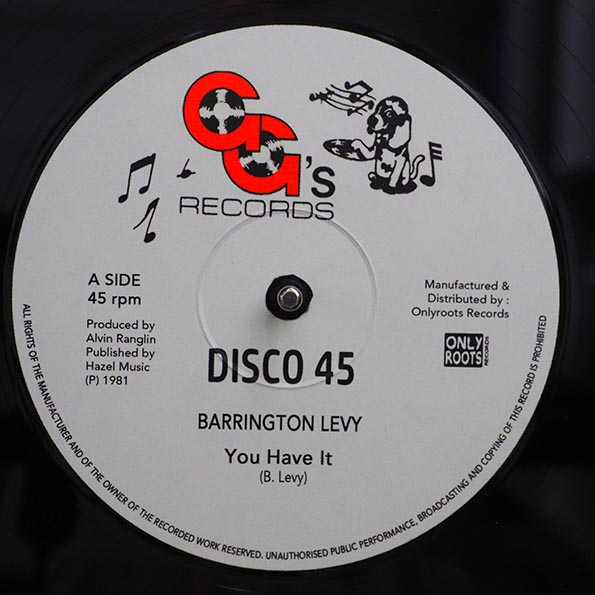 Barrington Levy - You Have It  /  GG's All Stars - You Have A Dub